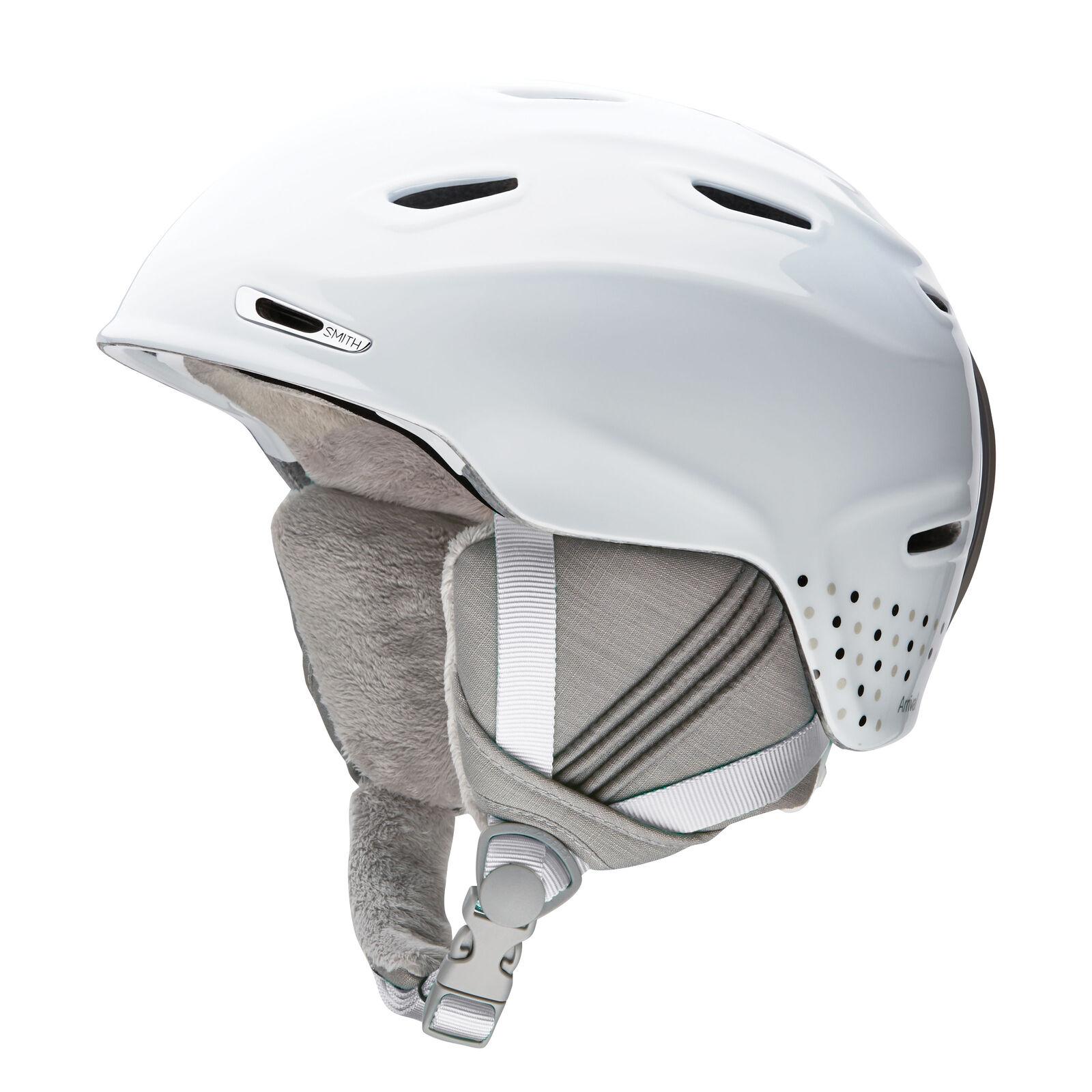 Smith Skihelm Snowboardhelm ARRIVAL white leicht Unifarben Belüftung