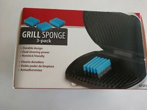 George Foreman 3-Pack Grill Cleaning Sponges GFSP3