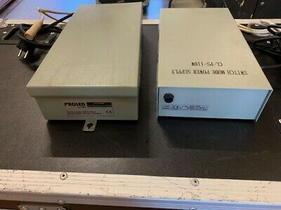 2 Stk Mbn Proled Monochrome Led Psu 1x Ps350w - 24v/350w 1x Cl-ps110w 24v/110w