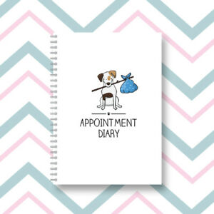 Dog Grooming Dog Walker Diary Design 83 2021 Appointment Diary Day per Page