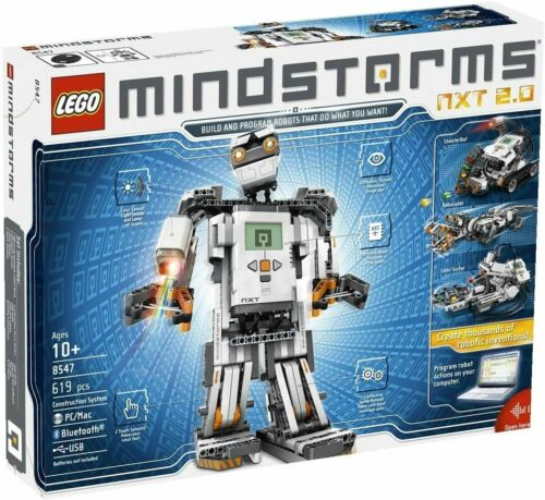 NEW Lego 8547 Mindstorms NXT 2.0 Factory Sealed