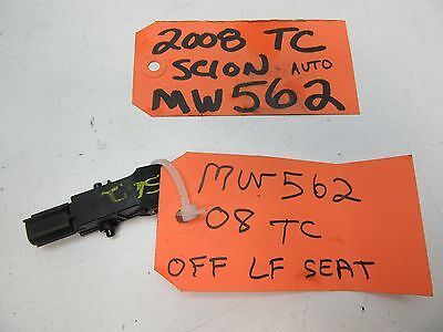 2005 SCION TC REAR OUTER LEFT LH DRIVER SIDE SEAT BELT ASM OEM 73370-21081