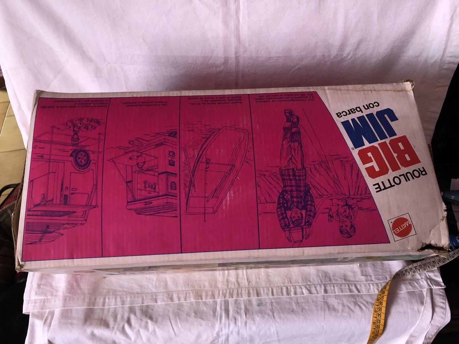 Big Jim Mattel Wohnmobil mit Stiefel Vintage Jahre '80