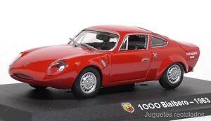 1-43-FIAT-ABARTH-1000-BIALBERO-1963-NOREV-HACHETTE-DIECAST