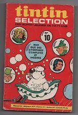 TINTIN Sélection n°10 - 1971 - Bel état, pliures marquées