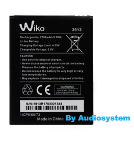 BATTERIA-2500MaH-ORIGINALE-WIKO-per-LENNY-4-4-PLUS-HARRY-3913-PILA-NUOVA