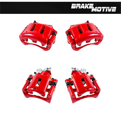 Front+Rear Brake Calipers For 2005 2006 2007 2008 2009 2010 FORD MUSTANG 4.0L V6