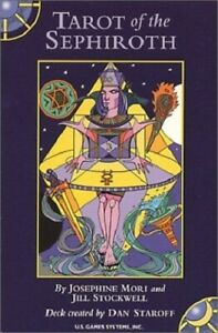Tarot-of-the-Sephiroth-deck-OOP-Original-Seal-FREE-Shipping