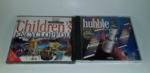NEW-DK-Eyewitness-Children-039-s-Encyclopedia-amp-Hubble-Space-Telescope-PC-CD-Rom