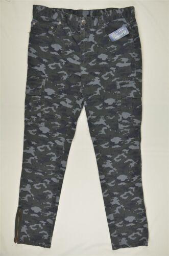 NEW MEN/'S American Rag 5 Pocket Camo Print Pants Gunmetal sz 36x32 $60 #88-58874