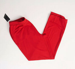 Activology-Womens-Red-French-Terry-Pant-Size-XL