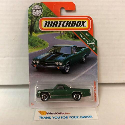 /'70 Chevy El Camino JC11 2019 Matchbox Case N Green