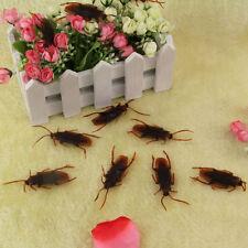 1 x realistici FAKE Cockroach ROCHE Bug-DIVERTENTE Burla scherzo-Life Like