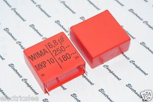 1pcs WIMA MKP10 1.5uF POLYPROPYLENE 400V 5/% pitch:27.5mm Capacitor 1,5µF