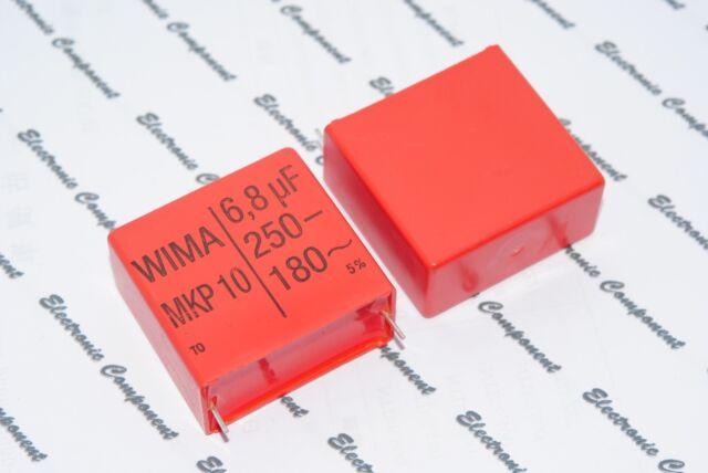 1pcs - WIMA MKP10 6.8uF(6.8uF) 250V 5% pitch:37.5mm Capacitor