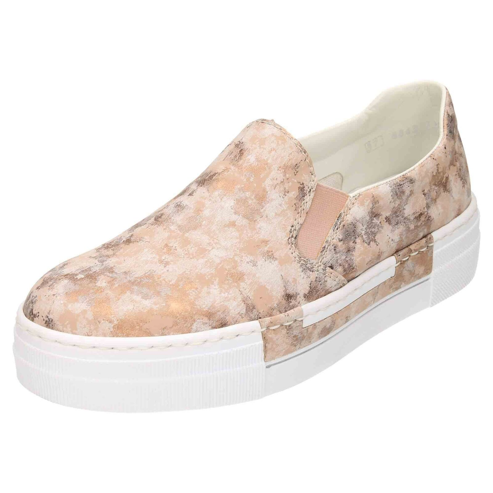 Rieker à Enfiler Sandale Chaussures Escarpins N4966-32 diapositives Mocassins Tennis Plates
