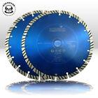 2 Piezas Disco de corte diamante ø 230 mm NORDMANN N10 Turbo Hormigón