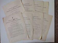 Exam Papers 1922 May / June Geography Original Vintage Geographical Tripos