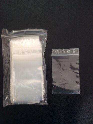 100 Druckverschlußbeutel Tütchen Polybeutel Plastiktütchen 70x100 mm 7x10 cm NEU