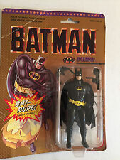 "Vintage 1989 Batman Bat-rope 4"" Action Figure Poseable with Hidden Bat-Rope"