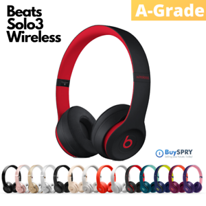Beats by Dr. Dre Solo3 🎵 Wireless Bluetooth On-Ear Headphones 🎧 Refurbished