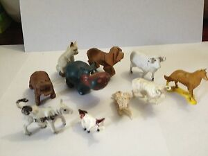 Dolls House Miniatures Handmade Picture X1 choose from 11 - ANIMALS set DD