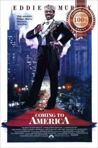 NEW COMING TO AMERICA 1988 OFFICIAL ORIGINAL CINEMA MOVIE PRINT PREMIUM POSTER