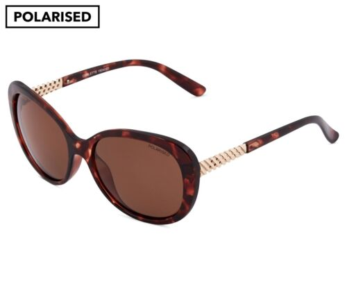 Cancer Council Womens Corlette Polarised Sunglasses Milky Cherry Tort//Brown