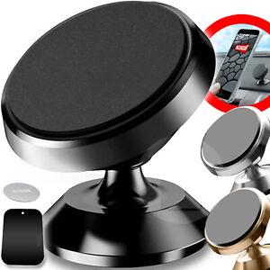 scozzi®Handyhalterung Auto Magnet KFZ Armaturenbrett Universal Halter Smartphone