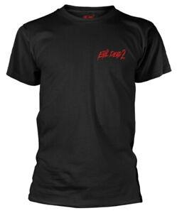 Evil-Dead-2-039-Dead-By-Dawn-039-Black-T-Shirt-NEW-amp-OFFICIAL