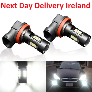 2X-H8-H11-9005-9006-LED-Fog-Light-Lamp-Bulb-Bulbs-3000K-6000K-3030SMD-1200LM