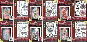 PERFECT PARTNERS DAY OF THE DEAD COLLECTION Sheena Douglass Stamps 2017