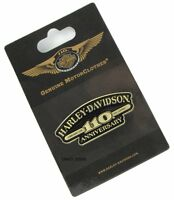 Harley Davidson 110th Anniversary American Classic Vest Pin On Card