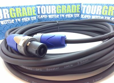 Speaker Lead Neutrik Speakon to Speakon Cable PRO Genuine NL2FX 1.25mm SQ