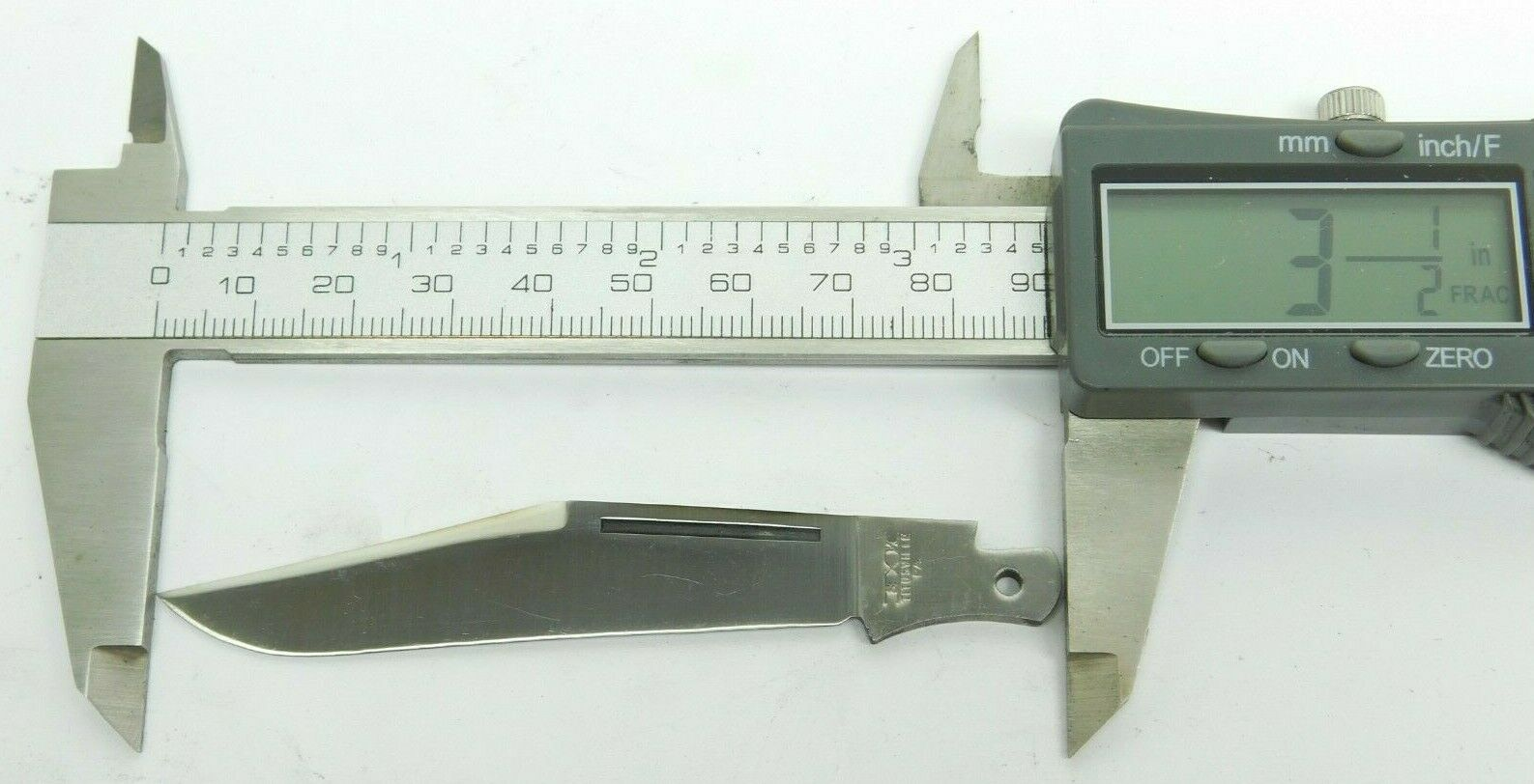 Replacement Clip Blade for #9 Schatt & Morgan Stockman Pocket Knife Queen (QC)
