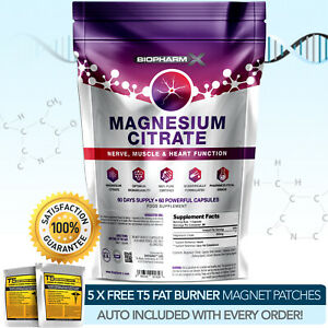 Magnesium-Citrat-Staerkste-Pharma-Grade-60-Kapseln-x-500mg-Muskulatur-staerken