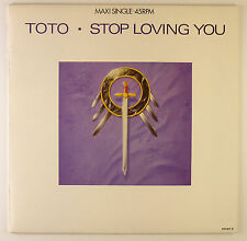 """12"""" Maxi - Toto - Stop Loving You - B1712 - washed & cleaned"""