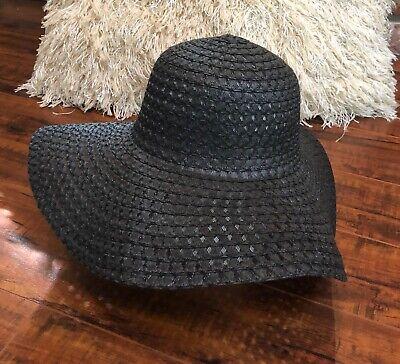 Wide Brim - Fun Summer Hat Boho Hippie- Cotton Handmade Sun Hat Big Floppy Brim