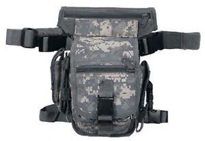 US ACU Hip Bag mit Bein- und Gürtelbefestigung UCP AT Digi Army Hip Bag