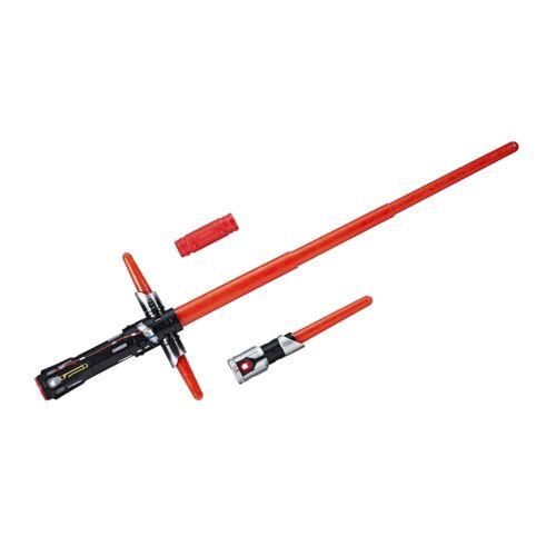 luz espada kylo renHasbro c1577Sound Star Wars e8 eléctrico /& luz efecto