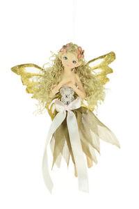 Golden-Fairy-Wandbehang-Ornament-Luxus-Weihnachtsbaum-Haengende-Dekoration
