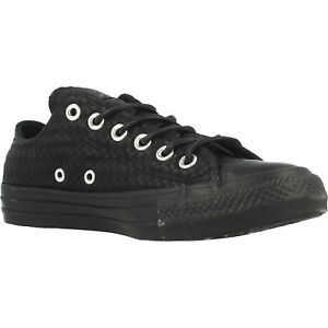a7eb1c01a123 Image is loading Women-Athletic-Sneakers-Converse-Chuck-Taylor-Craft-Leather -