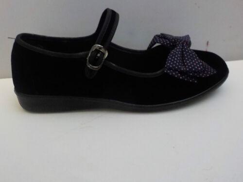 Black Mary Jane shoes Goth navy spotty bow cosplay Kawaii Harajuku  festival