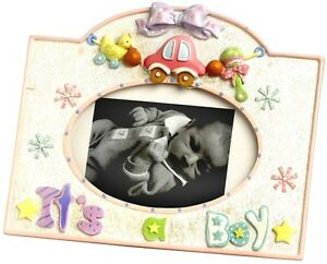 Baby Its A Boy Picture Frame 3655 Nursery Novelty Cute Collectable