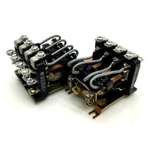 Lot-of-2-Struthers-Dunn-PM-17DY-24-Relay-4PDT-25A-277VAC-10A-30VDC-24VDC-Coil