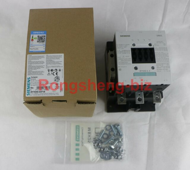 Brand New In Box Siemens Contactor 3RT5056-6AF36 instead of 3RT1056 3RT50