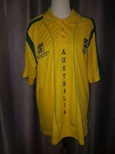 ICC Cricket World Cup West Indies 2007 - Australia Polo Short L/XL(*57cm chest)