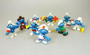 9-Figuren-Die-Schluempfe-Smurf-Sammelfiguren-Peyo-Schleich