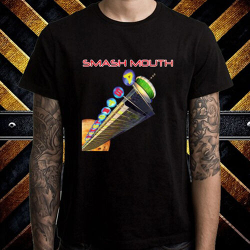 Smash Mouth Astro Lounge Rock Band Men/'s Black T-Shirt Size S to 3XL