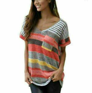 New-Fashion-women-Short-Sleeve-T-Shirt-Casual-Shirts-Tops-Blouse-Hot-T-Shirt